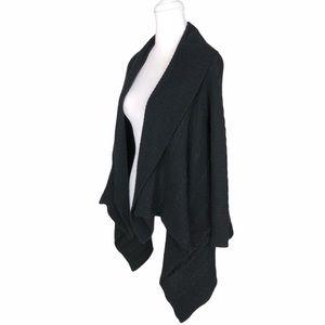 Neiman Marcus 100% cashmere cardigan black sweater